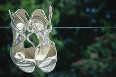 silberne braut sandalette / silver bridal sandals #jimmychoo #sandals #sandalen #wedding #hochzeit  #p2photography #eventkomponisten