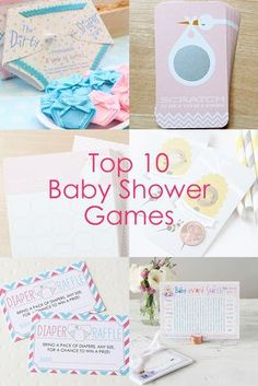 Planning a baby shower? Find the best baby shower games all in one place!