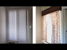 How to make a window cornice or valance - Season 2 Ep 2 - YouTube