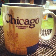 Chicago Starbucks Coffee Mug