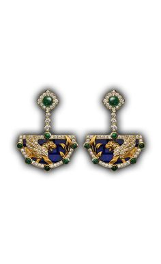 Earrings Ishtar Gate AR Yellow Gold Diamonds,Blue Sapphires and Tiger Eye I Love Jewelry, Fine Jewelry, Jewelry Design, Jewelry Making, Designer Jewellery, Wooden Earrings, Wooden Jewelry, Diamond Image, Japanese Jewelry
