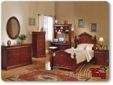 Classique Cherry Finish Full Size Bedroom Set