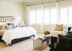 Great tips on how to add brightness and light into your home during the dark winter months