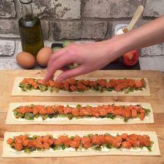 La tarte saumon poireaux - #La #poireaux #Saumon #tarte
