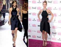 Lanvin, Spring 2013/Jennifer Lawrence at the Independent Spirit Awards.