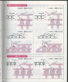 Japanese crochet symbols and explanations - Lita Z - Picasa Web Albums