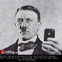 Just A Selfie Of Hitler