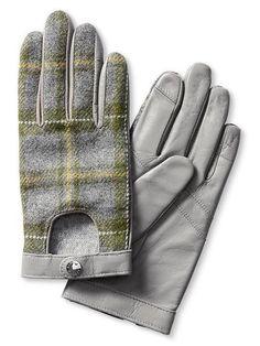 Tweed Moto Texting Glove