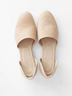Minimal   Classic: Evam Eva Leather Separate Shoes