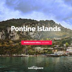 #Pontine islands #Italy #sailing  www.sailsquare.com