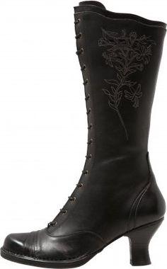 Diese Stiefel spiegeln den Glanz alter Zeiten wider. Neosens ROCOCO - Schnürstiefel - ebony für 269,95 € (25.11.15) versandkostenfrei bei Zalando bestellen.