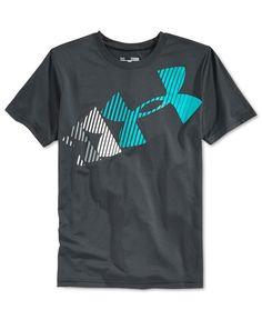 Under Armour Boys' Rising Logo T-Shirt