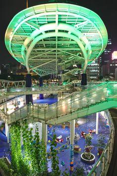 [OC] Nagoya Oasis 21 at Night [2000x3000]