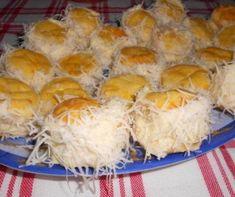Elronthatatlan sajtos pogácsa Recept képpel - Mindmegette.hu - Receptek Cheese, Breakfast, Food, Morning Coffee, Eten, Meals, Morning Breakfast, Diet
