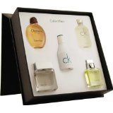 Variety by Calvin Klein for Men, Mini Set (Obsession, Eternity, Euphoria, Ck One, Ck In2U, Each  0.5 Ounce) (Health and Beauty)By Calvin Klein