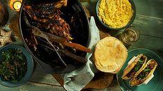 Slow-roasted lamb shoulder | Shawarma recipes | SBS Food