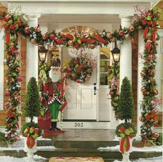 Beautifully done... love! # Christmas deco