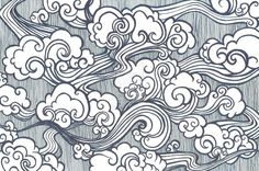 clouds drawings chinese OR oriental OR tibetan - Google Search