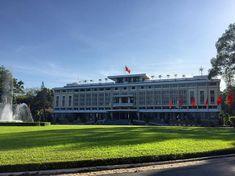 Palacio de la reunificación  #Vietnam #Saigon #HoChiMinh #Sudeste #City #Tour #Palace #Arquitectura #Historia #Mochileros #Travelers #Backpackers #Felicidad #QuieroVolver Capturado por lore_fca