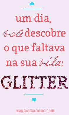 Adoro glitter <3