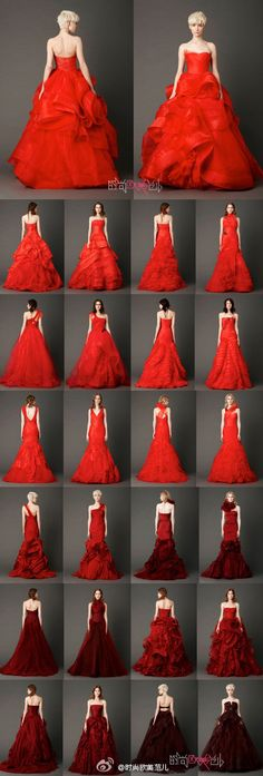 Dream wedding--red