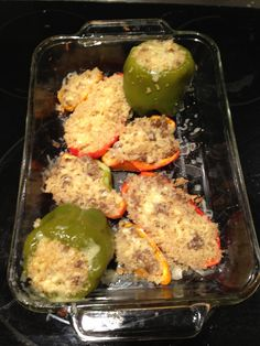 Quinoa Sausage Stuffed Peppers - gluten free dinner in under an hour