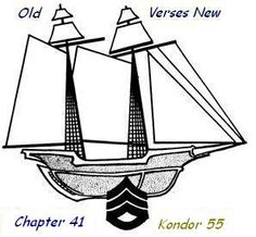 Old Verses New; Chapter 41, Kondor 55 http://www.mjyoung.net/stories/novel02/II041.html in which Joe having survived pirates and high seas is stymied by customs agents.