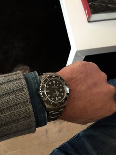 Just traded up my Rolex Sea dweller 16600 for a new 116600 model