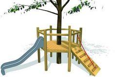 idea for one of the tree forts @Hollie Baker Kaitoula Tou Rodolfou Maslarova - How-Do-It.Com - Google+
