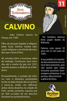 Calvino Reformed Theology, Bible Verses, Brother, Lord, Study, Faith, History, Reading, Books