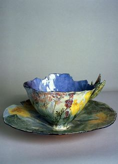 Fantastic Pictures Ceramics cups tea Strategies cup and saucer Pottery Mugs, Ceramic Pottery, Pottery Art, Ceramic Cups, Ceramic Art, Ceramic Planters, Tea Cup Saucer, Tea Cups, Arte Fashion