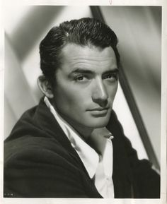 Portrait of Gregory Peck, 1940's...SWOON