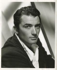 Portrait of Gregory Peck, 1940's...SWOON