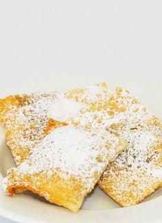 Südtiroler Rezept: Krapfen mit Fülle aus getrockneten Birnen (Kloatzenkrapfen)