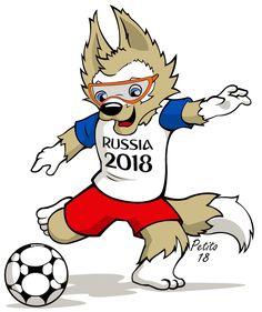Saiba como desenhar Zabivaka, o Mascote Copa_2018  Zabivaka, o Mascote Copa_2018  #copa #copadomundo #copafifa2018 #coparussia #russia2018 #zabivaka #worldCup2018 #zabivaka2018