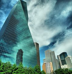 Reflections of Dallas Texas, USA