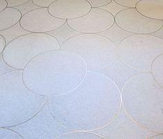 Floor Tile Designs Patterns Floor Tile Texture Photoshop Steel Cut Rings Embedded Into Concrete Floors Tristan Auer Pattern Floor Tiles Perth Floor Patterns, Tile Patterns, Textures Patterns, Terrazzo Flooring, Concrete Floors, Grey Flooring, Bedroom Flooring, Laminate Flooring, Floor Design