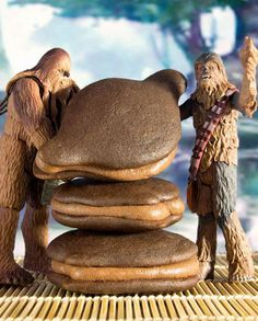 Wookiee-Pies from The Star Wars Cookbook by @Lara Starr