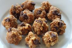 No-Bake Peanut Butter Granola Cookies that even young kids can start and finish on their own. This no-bake cookie recipe is fast and appropriate for preschoolers with short attention spans.