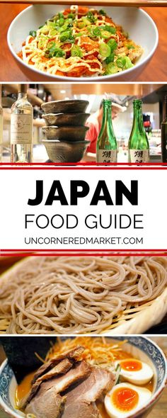 A guide to eating your way through Japan. Cultural food rituals and etiquette, best meat, vegetarian, sushi, and street food dishes, saki culture, green tea ceremonies and more. Food travel in Asia. | Uncornered Market Travel Blog