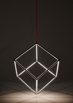Cubu By Kocowisch. ode to mathematical shapes. #cube #design #interiordesign #led Picture made by J.R.Hammond