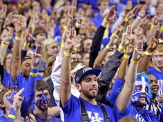 Josh Hutcherson Greeted by Hunger Games Salute at Kentucky Wildcats Game| The Hunger Games, Josh Hutcherson