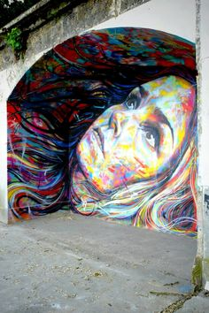 David Walker - street art - In situ art festival, Fort d'Aubervilliers (17 mai au 14 juillet 2014)