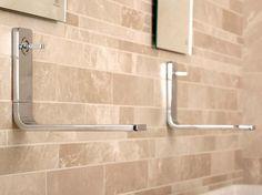 LOUNGE Wall-mounted washbasin mixer by NOKEN DESIGN design Simone Micheli