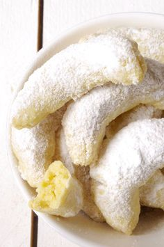 Vanilla Crescent #Cookies recipe