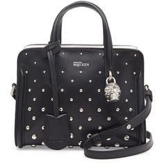 Alexander McQueen Mini Studded Padlock Zip-Around Tote Bag and other apparel, accessories and trends. Browse and shop 21 related looks.