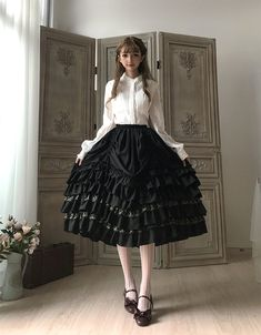 Little Dipper -Classic Mary- Vintage Classic Lolita Skirt Underskirt
