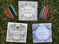Libros de colorear de Johana Basford 🎨