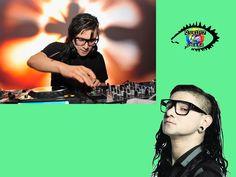 """Sonny John Moore (Los Ángeles, California, 15 de enero de 1988), más conocido por su nombre artístico Skrillex, es un productor estadounidense de música electrónica de los géneros dubstep, brostep y electro house, exvocalista de la banda de post-hardcore From First to Last entre los años 2004 y 2007. El 7 de junio de 2010, Moore lanzó su EP debut, My Name is Skrillex, como una descarga gratuita. Grtacias a éste hombre, hoy conocemos comercialmente lo que se llama """"dubstep"""""""