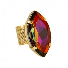 Sunset Empress of Fire Ring